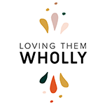 Loving them wholly logo